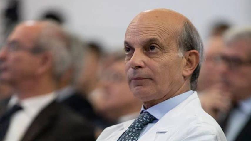 Franco Paradiso, direttore sanitario ospedale Cardarelli. Immagine: Azienda Ospedaliera Cardarelli di Napoli - Ufficio Stampa/Facebook