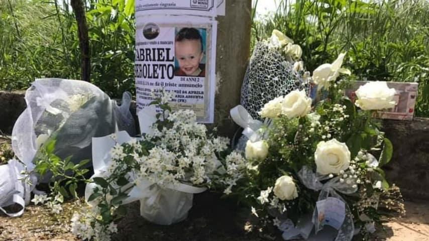 Gabriel Feroleto, strangolato a morte