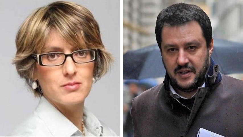 Giulia Bongiorno, Matteo Salvini. Immagini: Sito ministero per la Pubblica Amministrazione, Matteo Salvini/Facebook