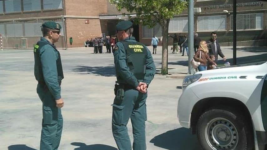 Guardia Civil spagnola. Immagine di repertorio: Guardia Civil/Facebook