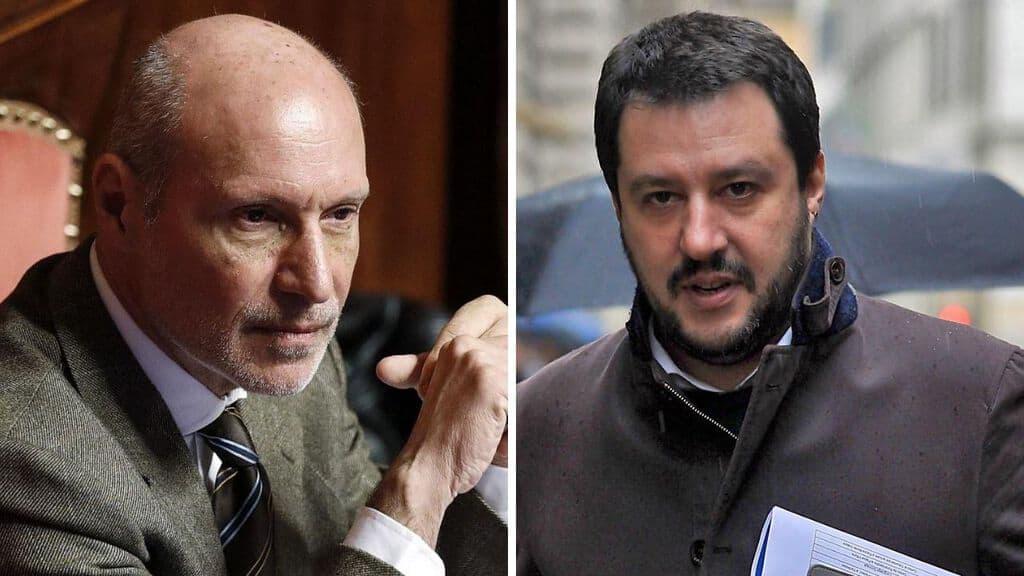 Il duro attacco di Gregorio De Falco al ministro Matteo Salvini
