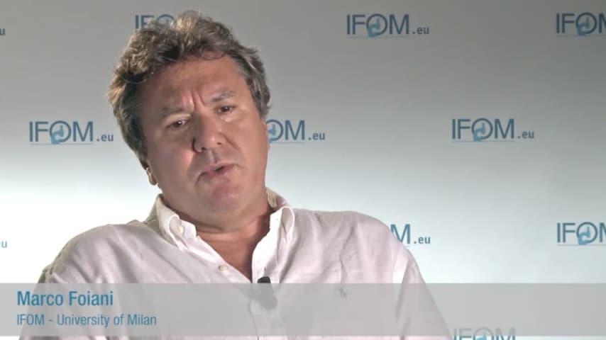 Il professore Marco Foiani. Immagine: Sito IFOM