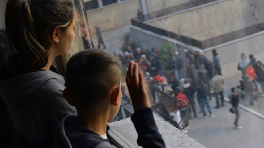 La foto pubblicata da Claudio Graziano, dell'Arci Roma, nel suo post su Facebook. Immagine: Claudio Graziano/Facebook