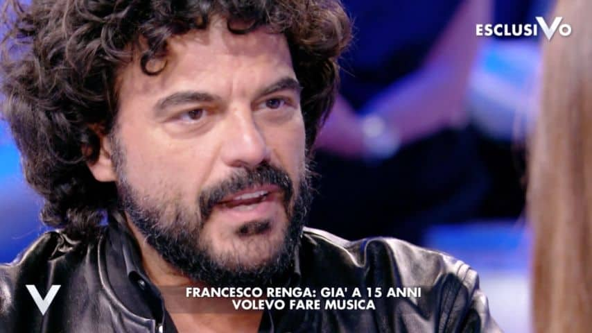 La sua grande passione: la musica. Immagine: Puntata Verissimo