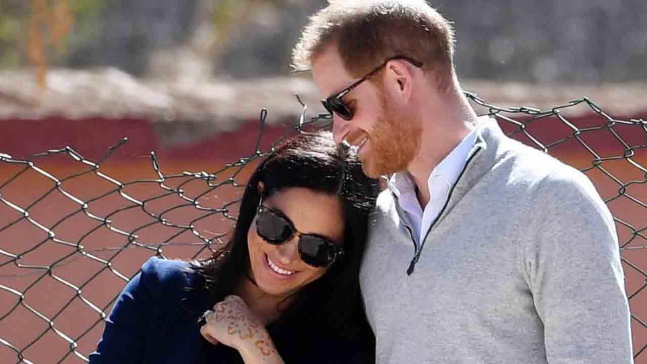 Meghan Markle e il principe Harry sorridenti