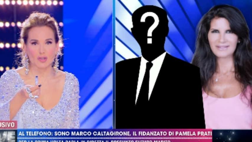 Mistero sull'esistenza di Marco Caltagirone. Immagine: Frame della puntata del 1 maggio di Live - Non è la D'Urso