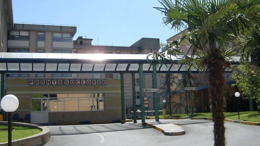 Ospedale Gaetano Rummo di Benevento. Immagine: Sito Azienda Ospedaliera S.Pio presidio G.Rummo-Benevento
