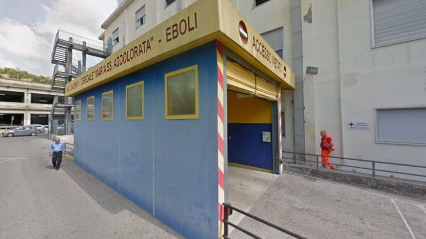 Ospedale di Eboli. Immagine: Google Maps