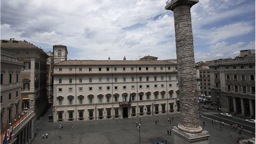 Palazzo Chigi dove si è tenuto il Consiglio dei ministri. Immagine: Sito Presidenza del Consiglio dei ministri