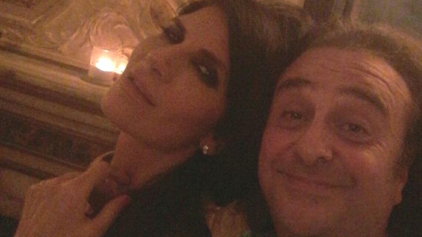 Pamela Prati e l'amico Mario Zamma. Immagine: Mario Zamma/Facebook