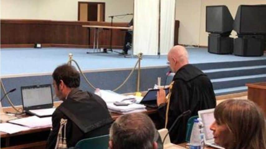 Processo per il presunto depistaggio sulle indagini della strage di via D'Amelio. Immagine: Adnkronos