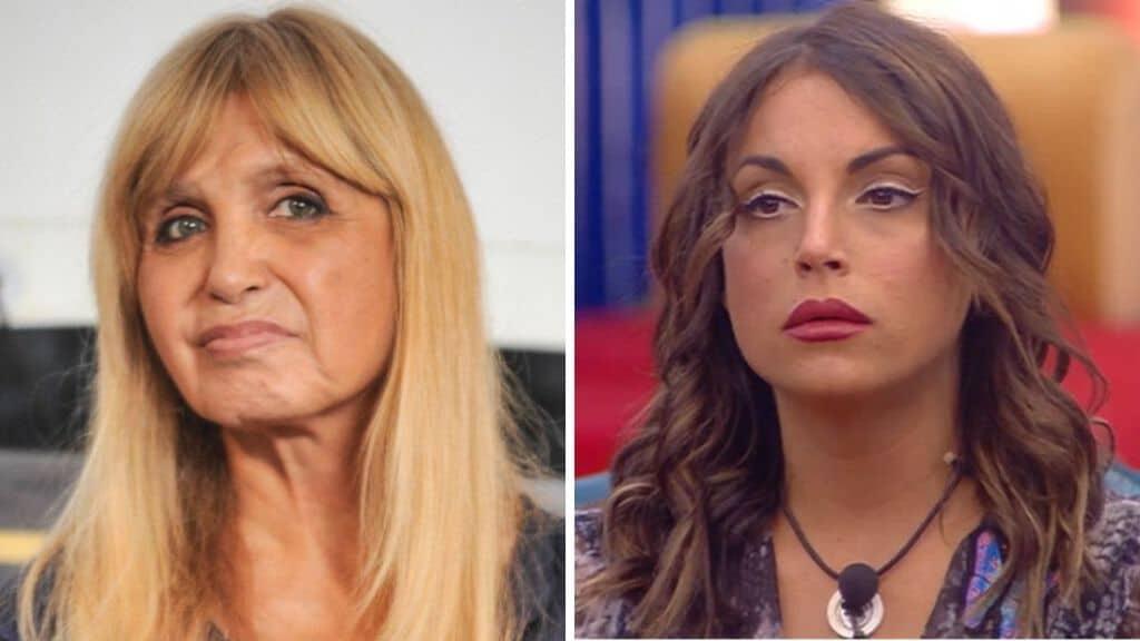 Francesca De André risponde a Dori Ghezzi