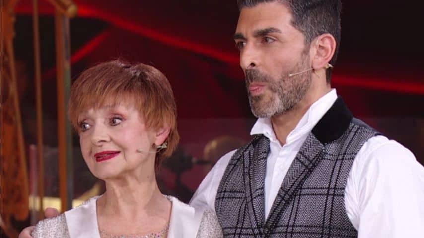 Milena Vukotic e Simone Di Pasquale a Ballando con le stelle