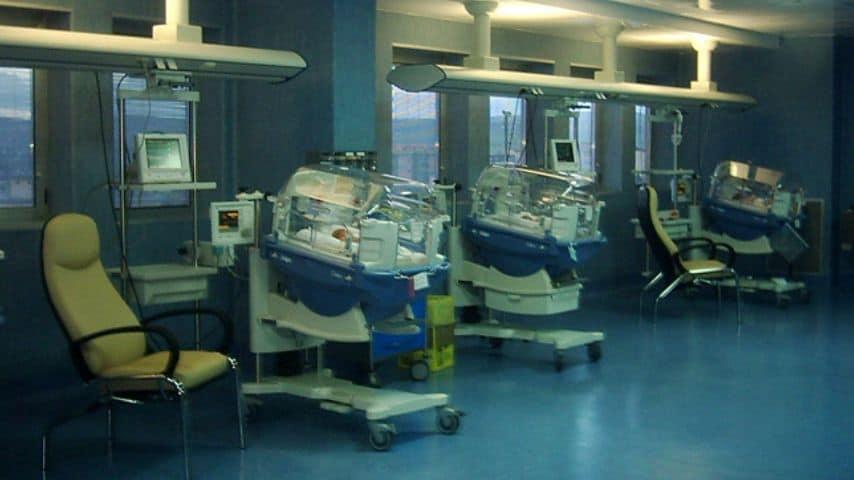 Reparto Neonatologia Terapia Intensiva ospedale Gaetano Rummo di Benevento. Immagine: Sito Azienda Ospedaliera S.Pio presidio G.Rummo-Benevento