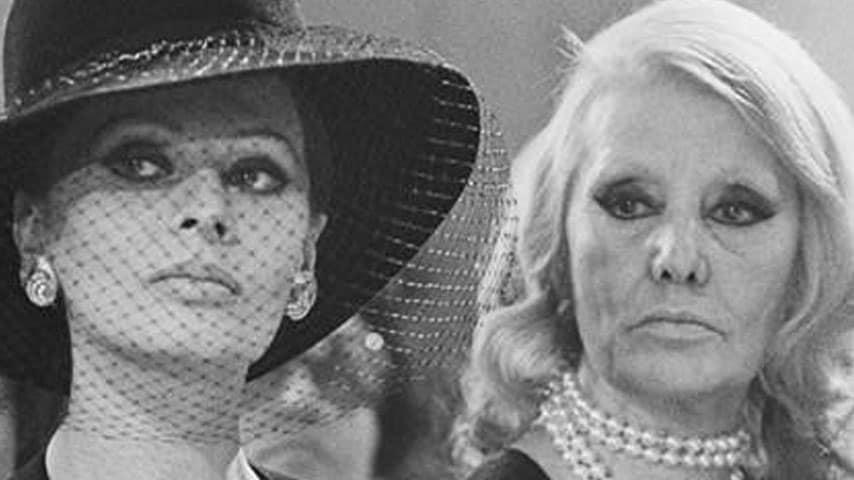 Sofia Loren e la madre Romilda