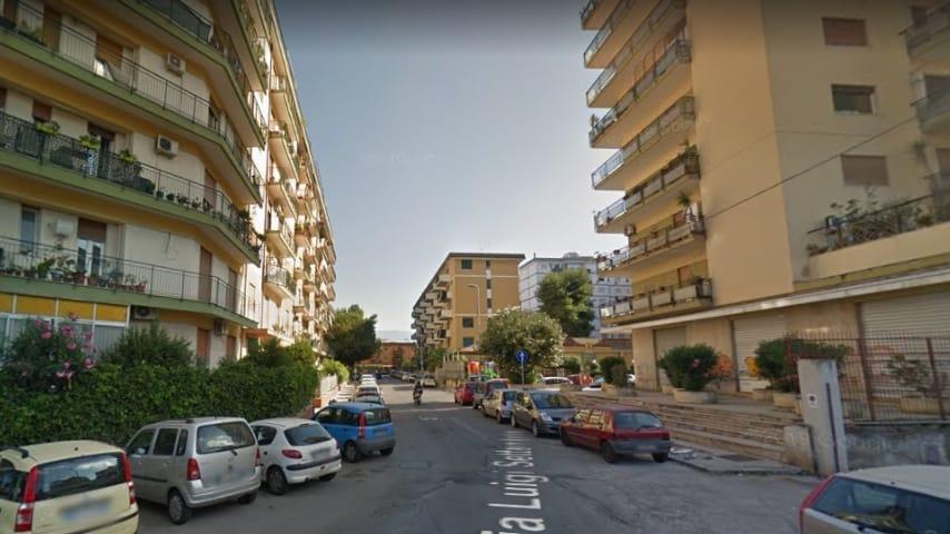 Via Luigi Settembrini, quartiere Noce, a Palermo. Immagine: Google Maps