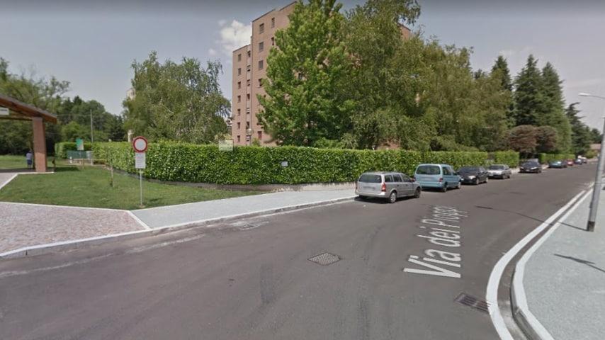 Via dei Pioppi Legnano. Immagine: Google Maps