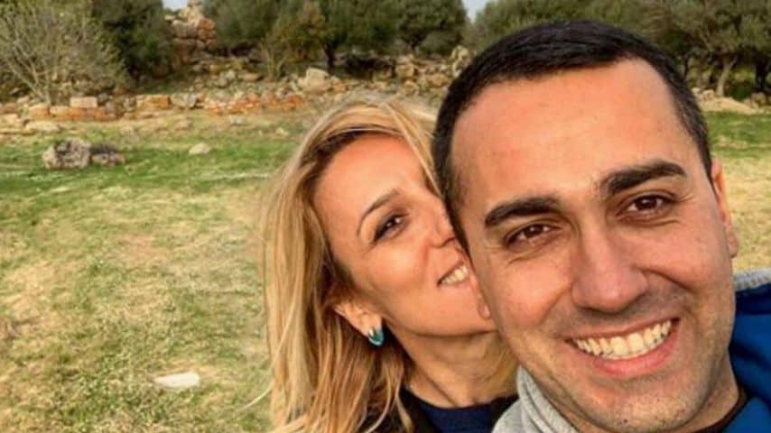 Virginia Saba e Luigi Di Maio. Immagine: Luigi Di Maio/Instagram