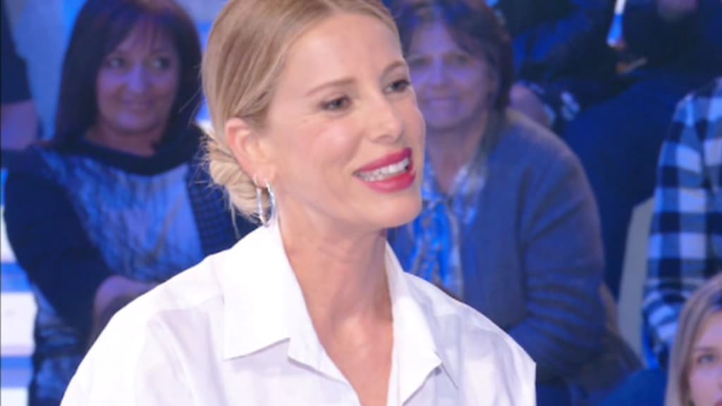 Alessia Marcuzzi a Verissimo