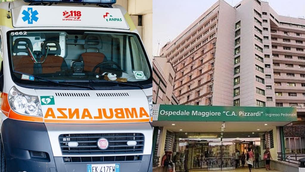 ambulanza ospedale maggiore