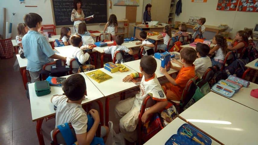 aula delle elementari