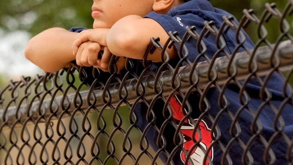 bambino recinzione