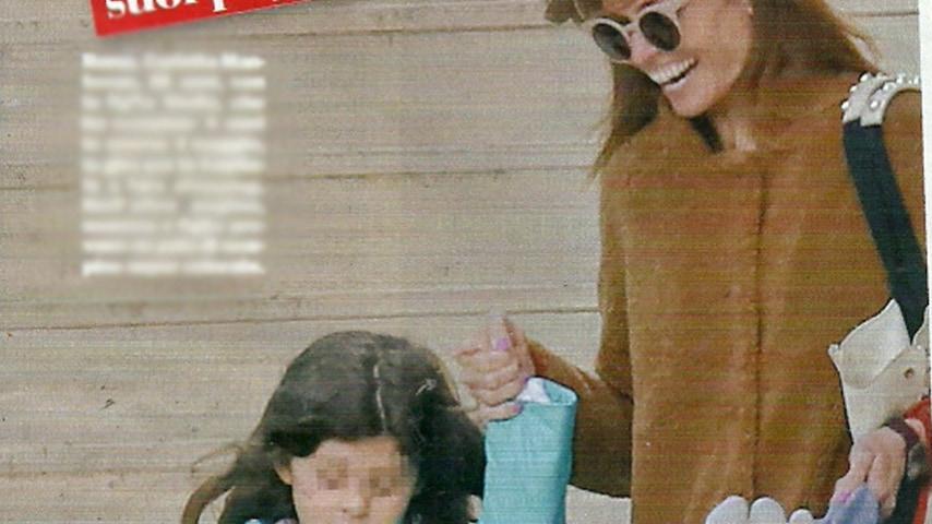 Carlotta Mantovan con la figlia