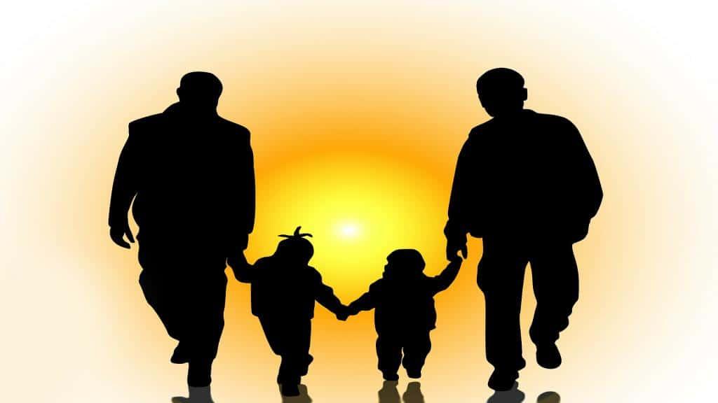 coppia omosessuale con figli