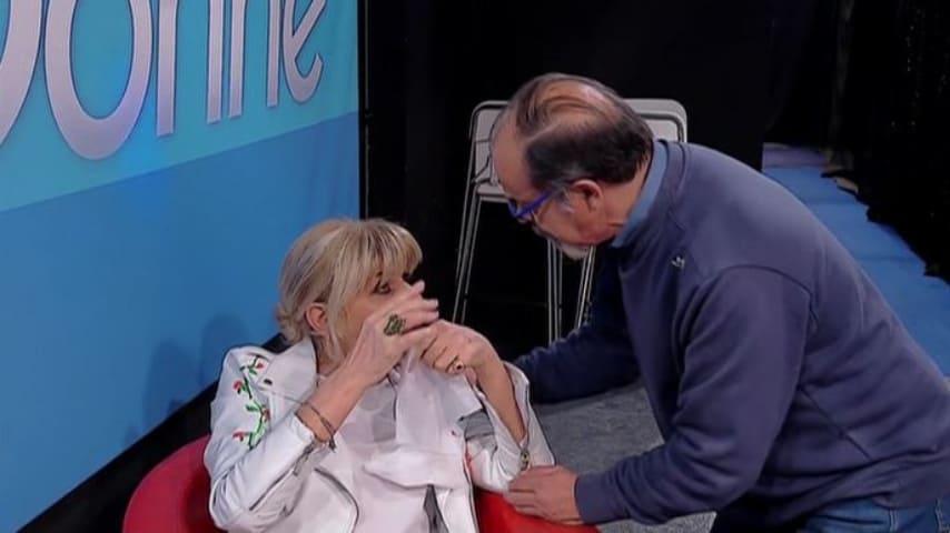 gemma galgani con il medico