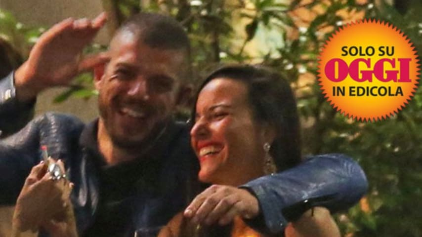 Giorgio Tambellini  e Francesca Gottardi. Foto: Oggi