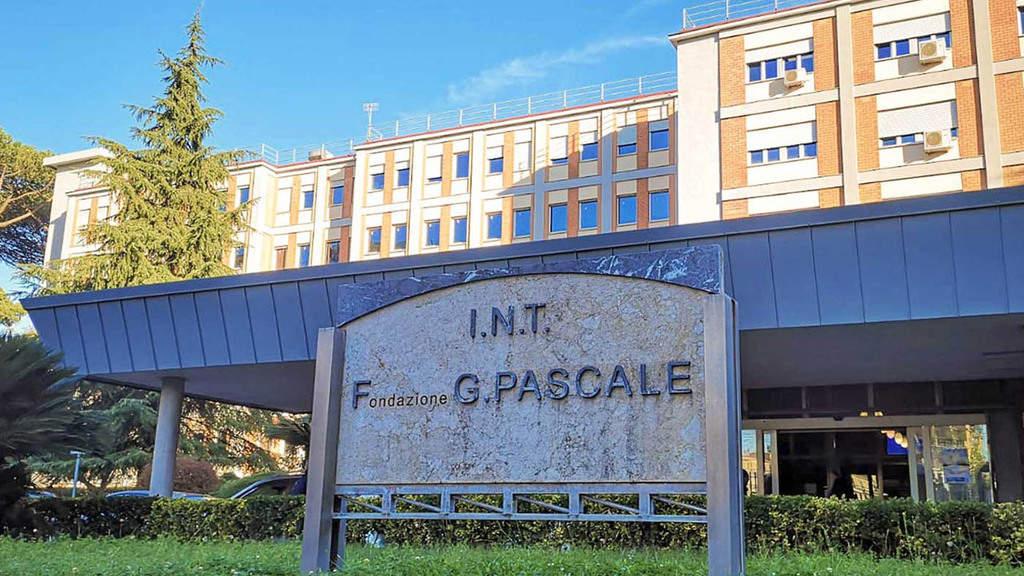 facciata dell'Istituto Pascale Napoli