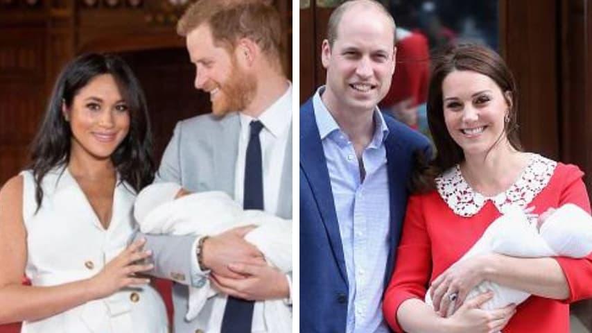 Meghan Markle e Kate Middleton, neomamme reali a confronto