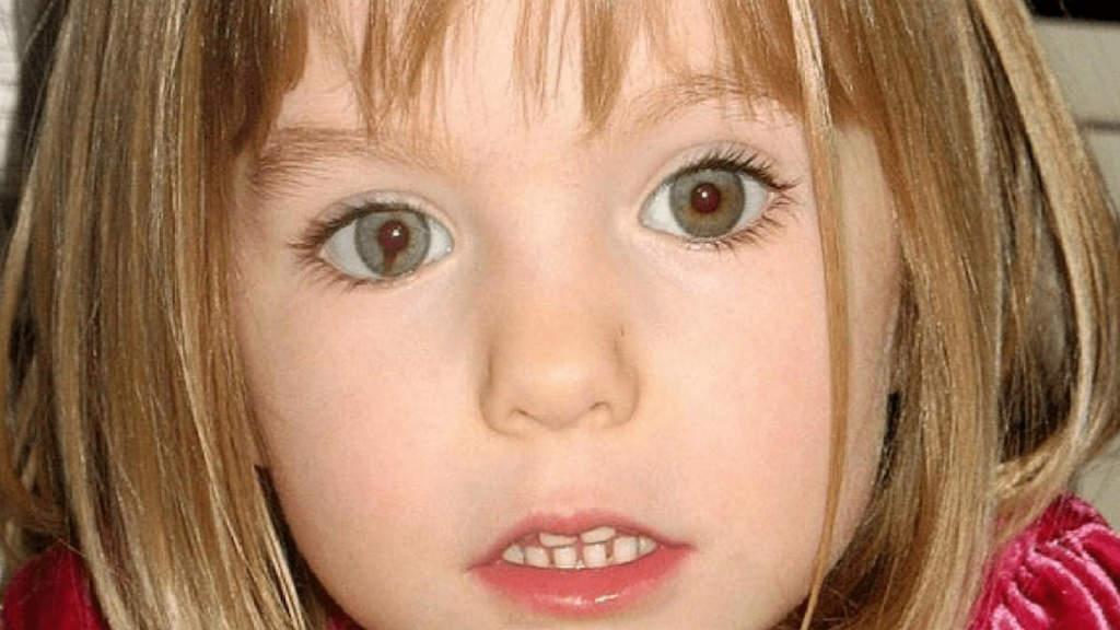 La piccola Maddie McCann