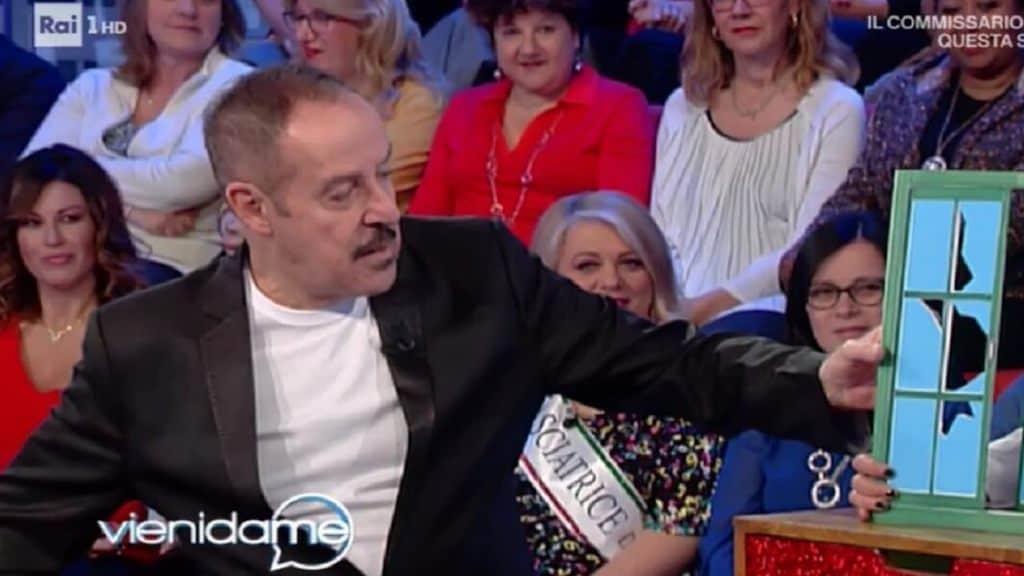 Massimo Lopez ospite della trasmissione Vieni da me 2019