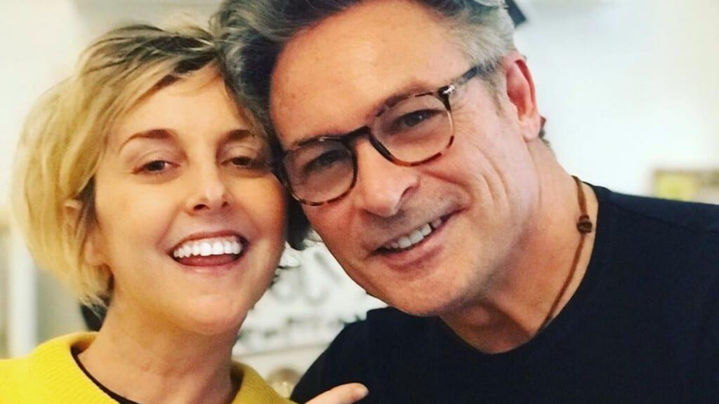 Nadia Toffa con il dottor Fabrizio Gardina