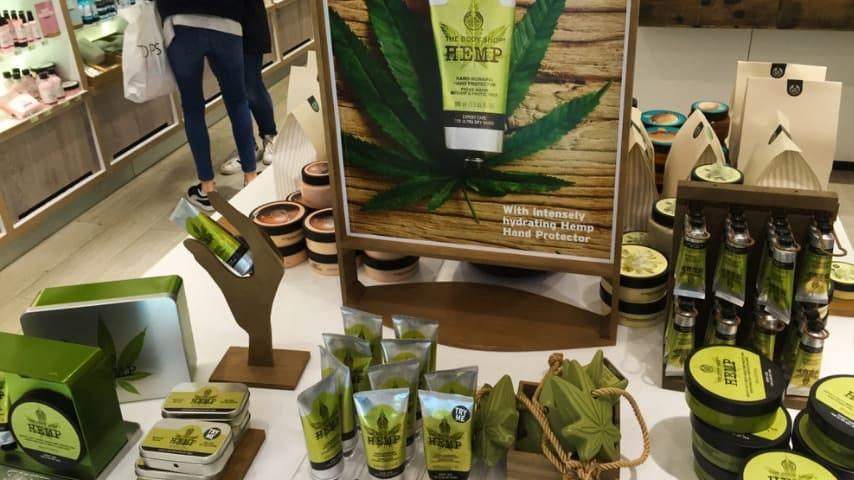 Dei prodotti a base di cannabis