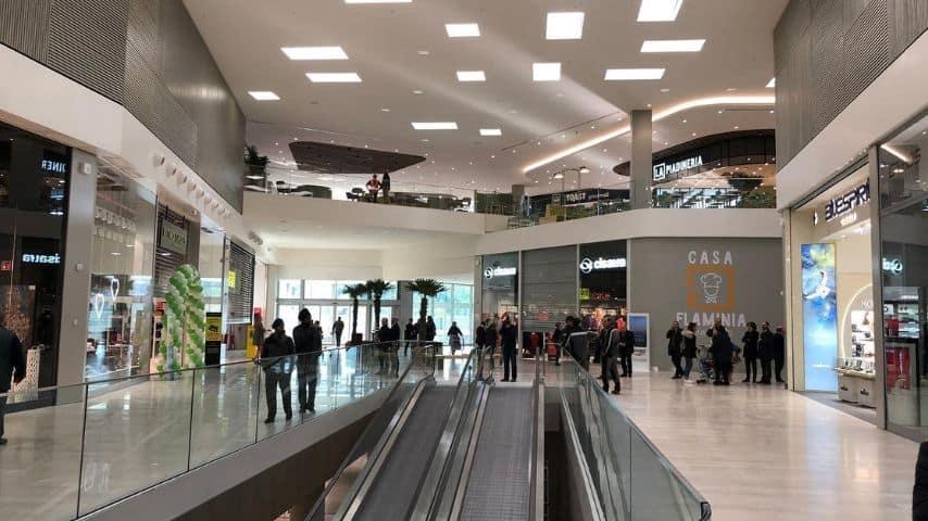 nuovo flaminia centro commerciale