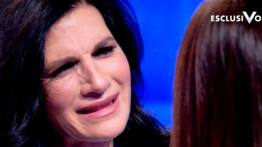 prati piange verissimo
