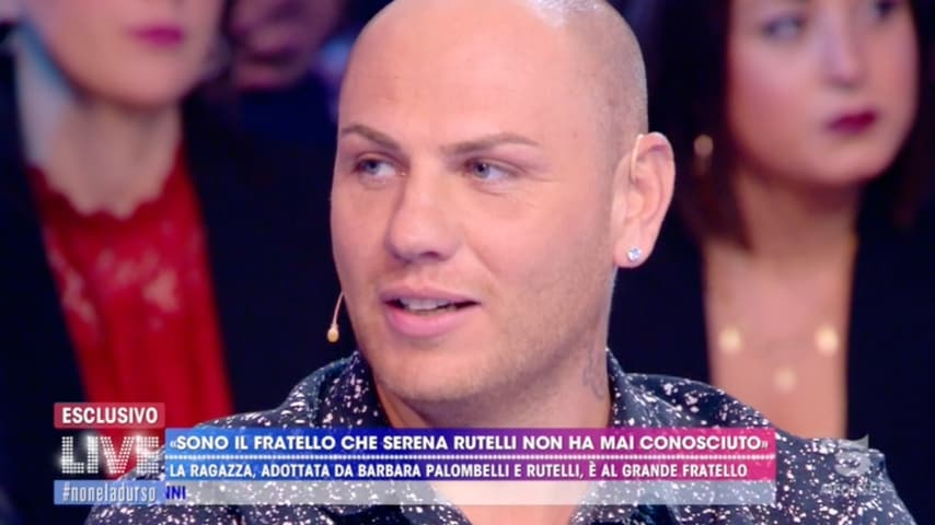 Il fratello di Serena Rutelli ospite a Live