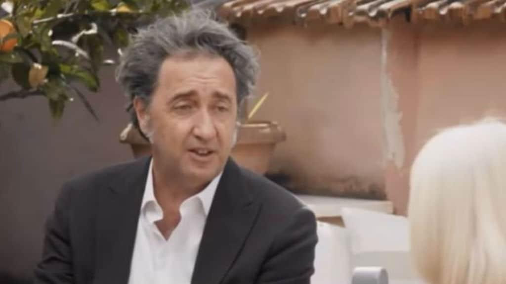 Paolo Sorrentino da Raffaella Carrà nella trasmissione A raccontare comincia tu