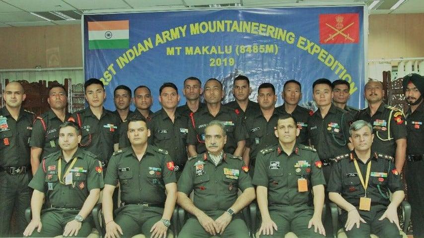 La spedizione dell'esercito indiano