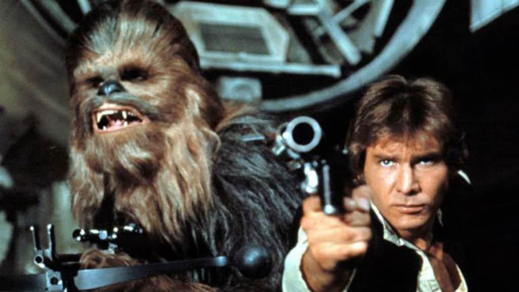 Chewbacca di Star Wars