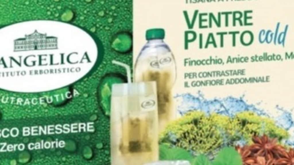 Tisana L'Angelica, ritirati 4 lotti per presenza di batteri fecali