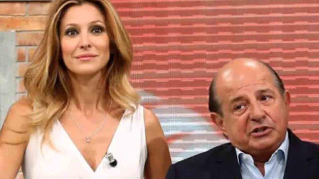 Adriana Volpe e Giancarlo Magalli a I Fatti Vostri