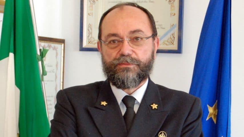 Ammiraglio Enrico Moretti, Direttore Marittimo di Ancona. Immagine: Sito della Guardia Costiera