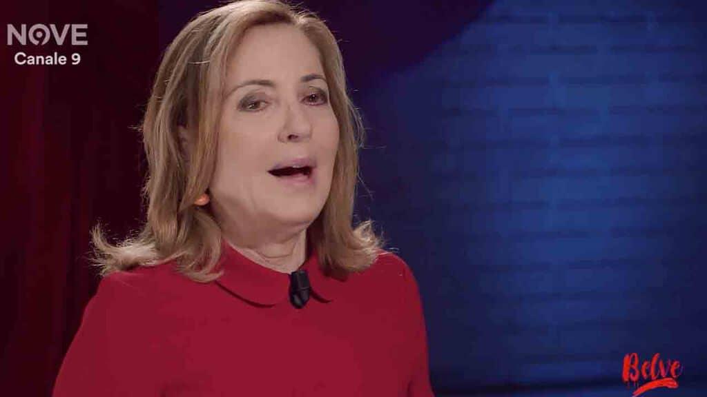 Barbara Palombelli a 'Belve'