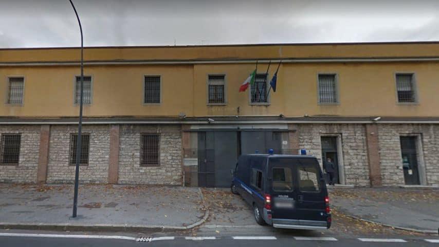 """Canton Monbello, Brescia - Casa circondariale """"Nerio Fischione"""", dove inizialmente è stato detenuto il 23enne. Immagine: Google Maps"""