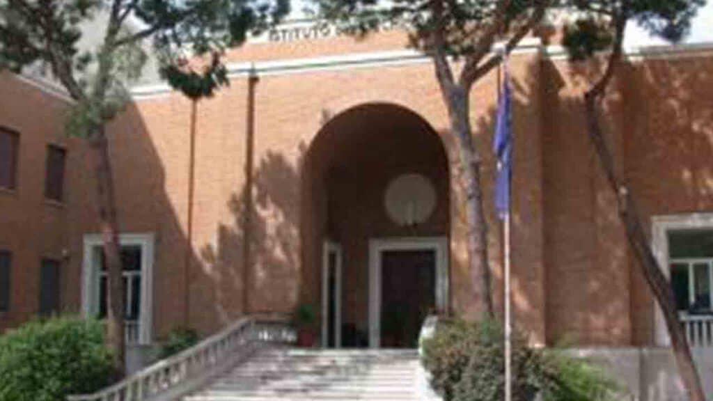 Ingresso del Centro Regionale S. Alessio di Roma
