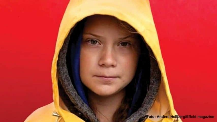 Greta Thunberg (Foto Anders Hellberg-Effekt magazine)