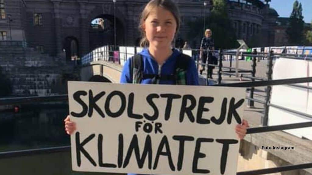 Greta Thunberg, settimana #40 di sciopero per il clima (Foto Instagram)